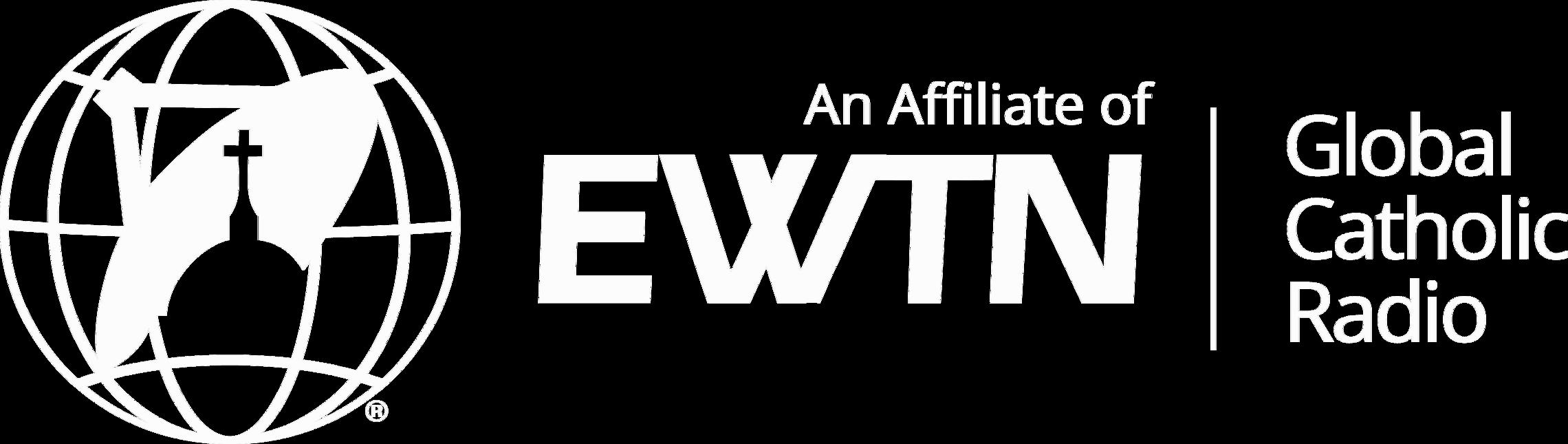 Ewtn Affiliate Logo White